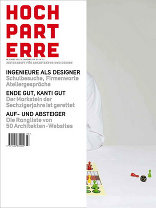 hochparterre 03|2011 Zeitschrift für Architektur und Design