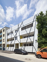 Wohnhaus Eggendorfer Gasse, Foto: Hertha Hurnaus