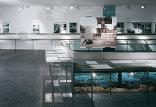 "Dauerausstellung ""Konzentrationslager Gusen 1939-45, Spuren, Fragmente, Rekonstruktionen"", Foto: Andreas Buchberger"