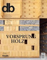 05|2013<br> Vorsprung Holz