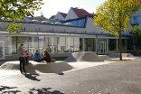 Die Graphische - Höhere Graphische Bundes-, Lehr- und Versuchsanstalt, Foto: idealice Landschaftsarchitektur