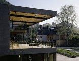 Umfeld Sozialzentrum und Park der Generationen, Götzis, Foto: Bruno Klomfar