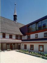 Kapuzinerkloster Innenhof, Foto: Barbara Bacher