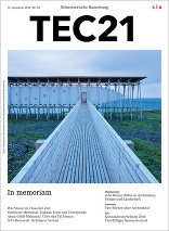 TEC21 2014|50 In memoriam