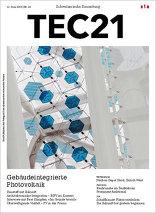 TEC21 2015|24 Gebäudeintegrierte Photovoltaik