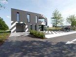 Weiß auf Schwarz – Neubau Fahrschule Burgstaller, Foto: David Birgmann