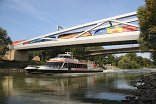 Freudenauer Hafenbrücke, Foto: Albin Nardaics © Büro für Transfer