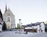Dorfplatz und miniM, Foto: David Schreyer