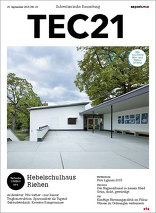 TEC21 2015|39 Hebelschulhaus Riehen