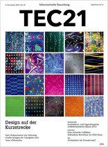 TEC21 2015|45 Design auf der Kurzstrecke