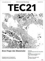 TEC21 2015|46 Eine Frage des Massstabs