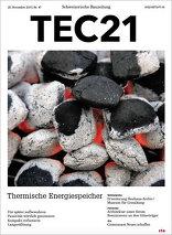 TEC21 2015|47 Thermischer Energiespeicher