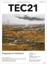 TEC21 2015|50 Pingpong am Gotthard