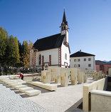 Friedhofserweiterung Pfons, Foto: Lukas Schaller