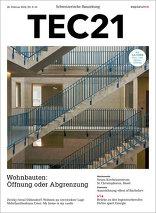 TEC21 2016|09-10 Wohnbauten: Öffnung oder Abgrenzung