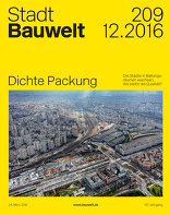 Bauwelt 2016|12 Dichte Packung