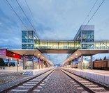 Skywalk Bahnhof Zeltweg, Foto: Roman Bönsch