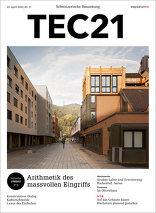TEC21 2016|17 Arithmetik des massvollen Eingriffs
