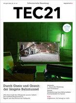 TEC21 2016|18-19 Durch Gneis und Granit