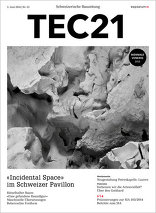 TEC21 2016|23 «Incidental Space» im Schweizer Pavillon