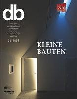 11|2016<br> Kleine Bauten
