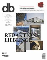 db deutsche bauzeitung 12|2016 Publikumslieblinge