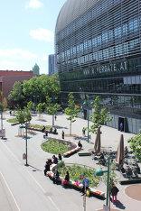 Maria-Restituta-Platz, Foto: Karin Standler