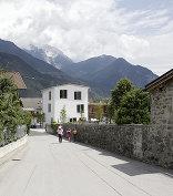 Haus für Kinder und Dorfplatz, Foto: David Schreyer