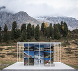 Info-Pavillon am Staller Sattel, Foto: Kurt Hoerbst