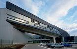 Zentralgebäude der BMW Werke Leipzig, Foto: Werner Huthmacher