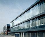 Büroerweiterung und Produktionshalle, Foto: Bruno Klomfar