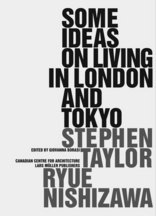Some Ideas on Living in London and Tokyo