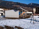 Gemeindezentrum und Kindergarten, Foto: Zita Oberwalder