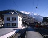 Bahnhofsareal Schruns, Foto: Bruno Klomfar