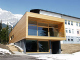 Nordisches Trainingszentrum, Foto: KREINERarchitektur ZT GmbH