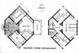 Sechseck-Holzhaus, Plan: Architekturführer Kassel