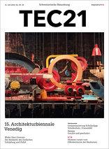 TEC21 2016|29-30 15. Architekturbiennale Venedig