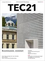 TEC21 2016|33-34 Kunstmuseen, erweitert