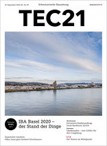 TEC21 2016|38-39 IBA Basel 2020 – der Stand der Dinge