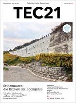 TEC21 2016 40 Stützmauern: die Erblast der Boomjahre