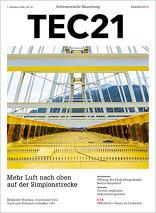 TEC21 2016|41 Mehr Luft nach oben auf der Simplonstrecke