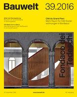 Bauwelt 2016|39 Fondaco dei Tedeschi