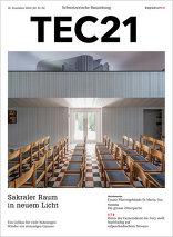 TEC21 2016|51-52 Sakraler Raum in neuem Licht