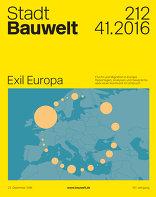 Bauwelt 2016|41 Exil Europa
