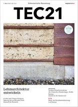 TEC21 2017|09-10 Lehmarchitektur entwickeln