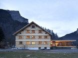 Hotel Tannahof, Foto: Dietrich | Untertrifaller Architekten