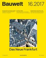 2017|16<br> Das Neue Frankfurt