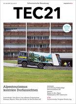 TEC21 2017|30-31 Alpentourismus: konträre Dorfansichten