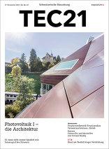 TEC21 2017|46-47 Photovoltaik I – die Architektur