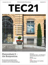 TEC21 2017|48 Photovoltaik II – die Komposition
